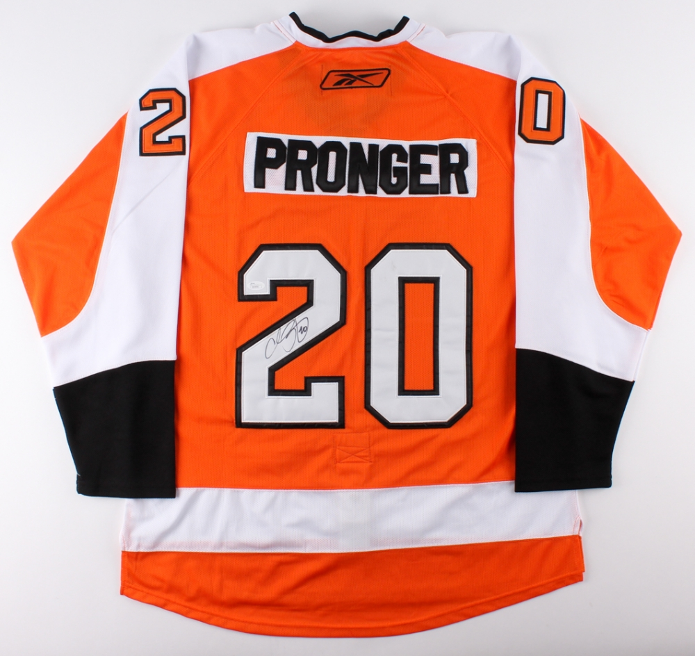 Chris Pronger Signed Flyers Jersey (JSA COA) at PristineAuction.com c67cff9a2