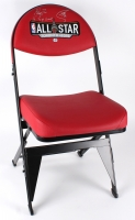 """Stephen Curry & Klay Thompson Signed 2016 All-Star Game-Used Locker Room Chair Inscribed """"'16 3 Pt Champ"""" (Fanatics Hologram)"""