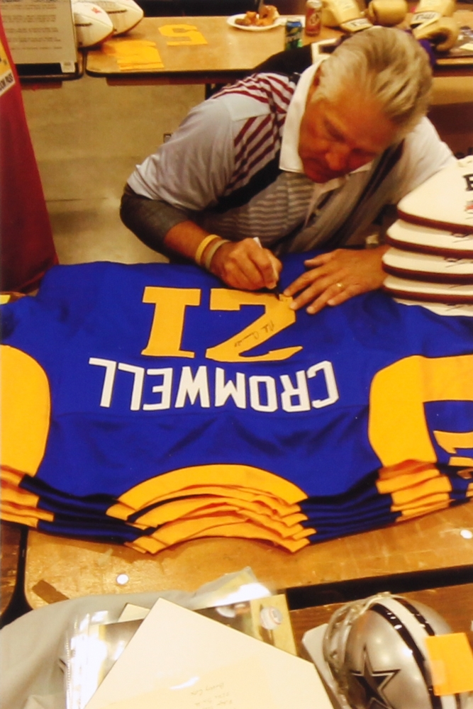 Nolan Cromwell Signed Rams Throwback Jersey (Radtke COA) at  PristineAuction.com 5fbfc9f4c