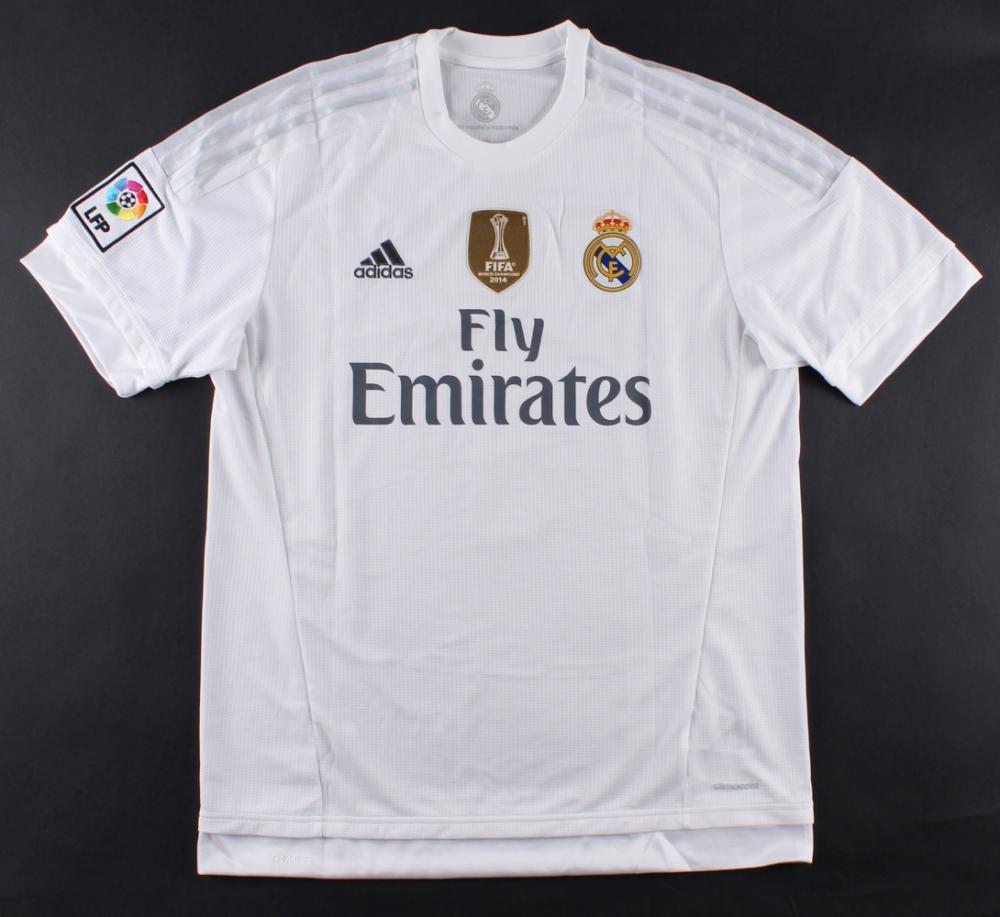 38526f86d Cristiano Ronaldo Signed Real Madrid Authentic Adidas Soccer Jersey (Ronaldo  COA)