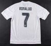 Cristiano Ronaldo Signed Real Madrid Authentic Adidas Soccer Jersey (Ronaldo COA)