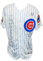2016 Cubs World Series LE Jersey Team-Signed by (25) with Kris Bryant, Anthony Rizzo, Kyle Hendricks, Aroldis Chapman (MLB Hologram & Fanatics Hologram) at PristineAuction.com
