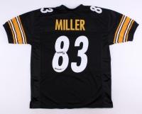 "Heath Miller Signed Steelers Jersey Inscribed ""Heeeath!"" (TSE COA)"