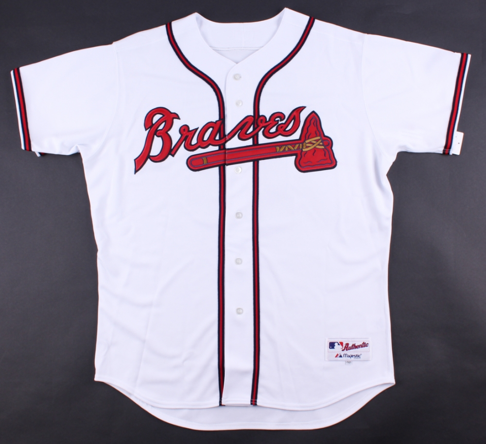 4d8c78dec Brian McCann Signed Braves Majestic Authentic Jersey (Radtke COA) at  PristineAuction.com