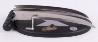"""Stan Lee Signed """"X-Men"""" Wolverine Claws High Quality Metal Movie Prop Replica (Lee Hologram)"""