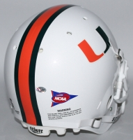 Devin Hester Signed Miami Hurricanes Full-Size Authentic Pro-Line Helmet (Radtke COA) at PristineAuction.com