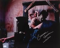 "Gunnar Hansen Signed ""The Texas Chainsaw Massacre"" 16x20 Photo Inscribed ""Leatherface"" (JSA COA)"