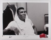 "Muhammad Ali Signed LE ""Ain't I Pretty"" 23x30 Fine Art Giclee #1/275 (PSA Hologram & Ali Hologram)"