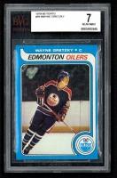1979-80 Topps #18 Wayne Gretzky RC (BVG 7)