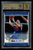 2012-13 Hoops Autographs #232 Klay Thompson RC (BGS 10)