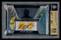2007-08 SP Rookie Threads #49 Kevin Durant Jersey Autograph RC #136/199 (BGS 9.5)