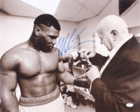 Mike Tyson Signed 16x20 Photo (JSA COA)