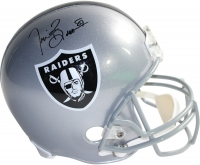 Tim Brown Signed Raiders Full-Size Helmet (Steiner COA)