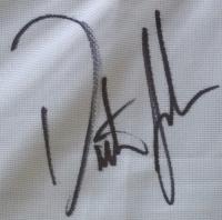"Dustin Johnson Signed 22""x27"" Custom Framed Pin Flag Display (JSA COA) at PristineAuction.com"