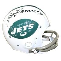 Joe Namath Signed Jets Full-Size TK Throwback Helmet (Steiner COA)