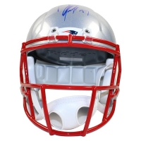 Rob Gronkowski Signed Patriots Full Size Speed Helmet (Steiner COA)