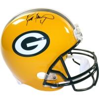 Brett Favre Signed Packers Full-Size Helmet (Steiner COA & Favre Hologram)