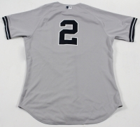 Derek Jeter New York Yankees 2014 Game-Used #2 Grey Jersey (5/28/2014) (Steiner LOA & MLB)