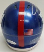 Odell Beckham Jr. Signed Giants Mini Speed Helmet with Visor (JSA COA) at PristineAuction.com