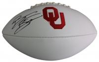 Brian Bosworth Signed Oklahoma State Sooners Logo Football (JSA COA)