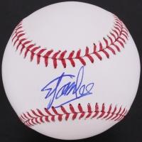 Stan Lee Signed OML Baseball (Stan Lee Hologram & Radtke COA)