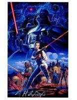 Greg Hildebrandt Signed Star Wars 8x10 Photo (PA LOA)