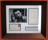 "Paul & Linda McCartney Signed 21"" x 25"" Custom Framed Hand-Written Note Display (JSA LOA)"