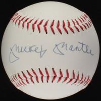 Mickey Mantle Signed Baseball (JSA ALOA)