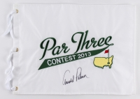 "Arnold Palmer Signed 2013 ""Par Three Contest"" Masters Golf Pin Flag (JSA ALOA) at PristineAuction.com"