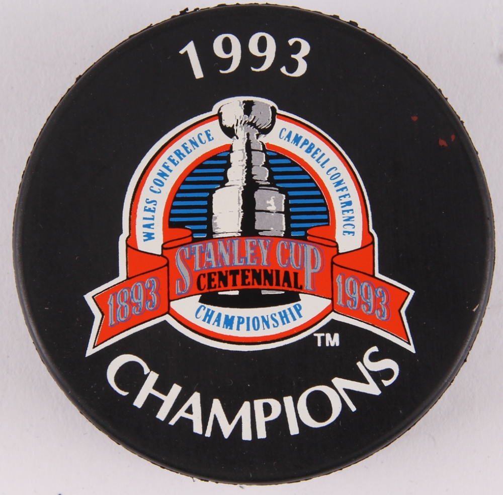 Online sports memorabilia auction pristine auction - Canadiens hockey logo ...