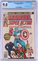 "Vintage 1977 ""Marvel Super Action"" Issue #1 Marvel Comic Book (CGC 9.0)"