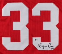 Roger Craig Signed 49ers Career Highlight Stat Jersey (Beckett COA) at PristineAuction.com