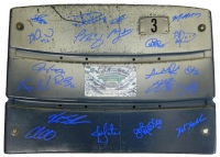 2016 Chicago Cubs Team Signed Wrigley Field Stadium Seat Back (22 Sigs) at PristineAuction.com