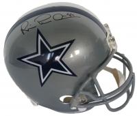 Michael Irvin Signed Cowboys Full Size Helmet (Beckett COA)