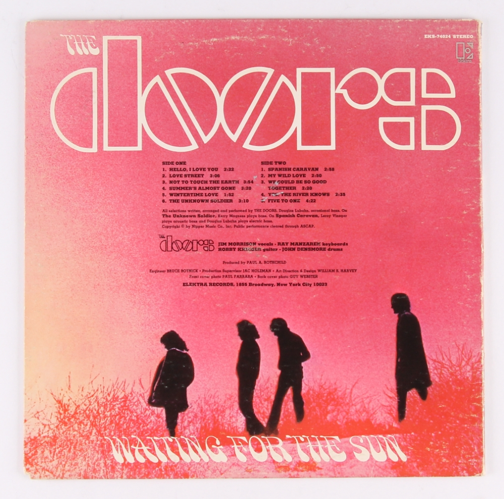 Ray Manzarek Robby Krieger \u0026 John Densmore Signed \ The Doors Waiting For The  sc 1 st  Online Sports Memorabilia Auction   Pristine Auction & Online Sports Memorabilia Auction   Pristine Auction