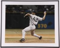 "Mariano Rivera Signed 19""x23"" Custom Framed Photo Display (Steiner COA)"