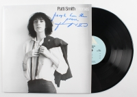 """Patti Smith Signed """"Horses"""" Record Album Cover Inscribed """"PeopleHave the Power"""" (JSA COA)"""