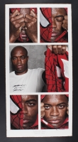 """Anderson Silva """"Spiderman Lives!"""" Signed 35"""" x 17.5"""" UFC Fine Art Giclee by Iconic Sports Photographer Eric Williams #29/70 (Beyond the Cage & PA LOA)"""