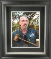 "Tommy Flanagan Signed 19""x22"" Custom Framed Gavel Display (Radtke COA)"