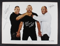 """Randy Couture, Chuck Liddell & Wanderlei Silva """"The Three Kings of MMA"""" Signed 30.5"""" x 23"""" UFC Fine Art Giclee by Iconic Sports Photographer Eric Williams #5/30 (Beyond the Cage & PA LOA)"""