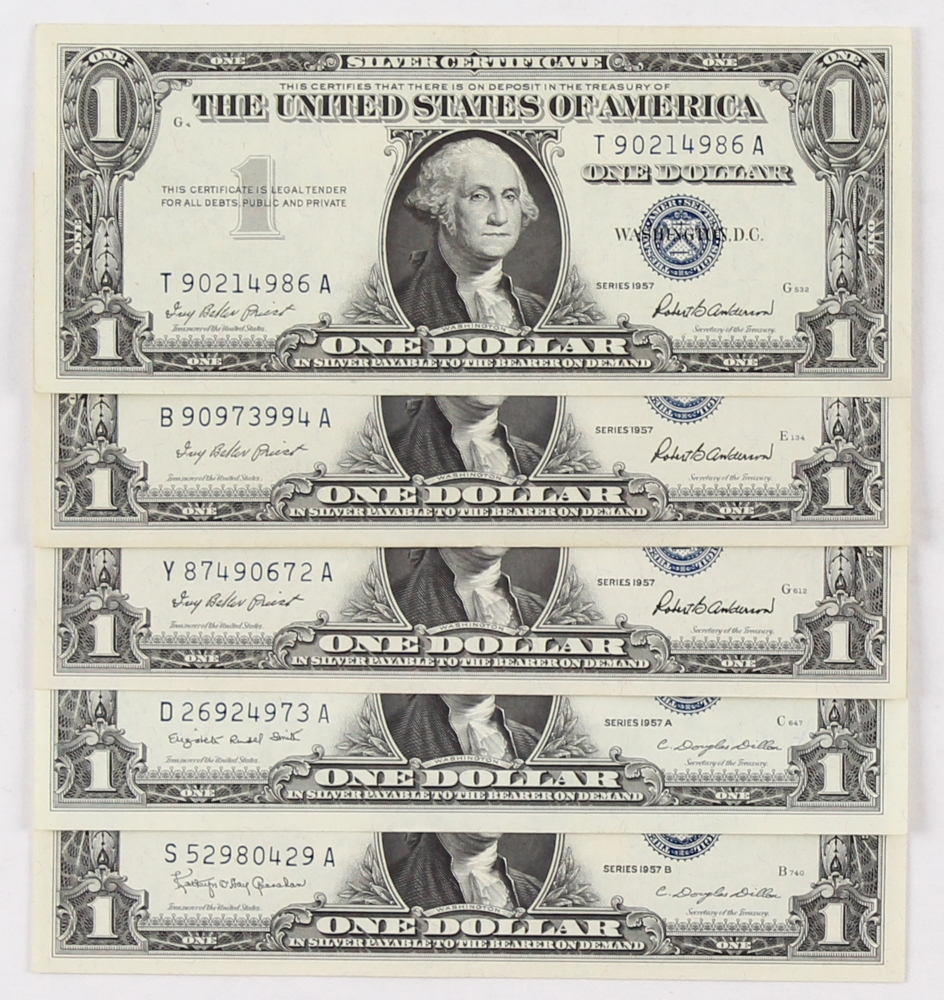 Silver certificate 1957 star note value best design sertificate 2017 1957 silver certificate xflitez Gallery