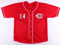 "Pete Rose Signed Reds Jersey Inscribed ""4256"" (JSA COA) at PristineAuction.com"