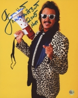 "Jimmy Hart Signed 8x10 Photo Inscribed ""Mouth of the South"" & ""2005 HOF"" (TSE)"