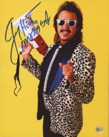 """Jimmy Hart Signed 8x10 Photo Inscribed """"Mouth of the South"""" (TSE)"""