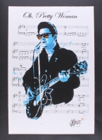 "Joe Petruccio - Roy Orbison ""Oh, Pretty Woman"" Signed Limited Edition 20"" x 30"" Fine Art Giclee on Paper (Artist Proof #5/12) (PA LOA)"