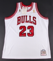 Michael Jordan Signed LE Bulls Authentic Mitchell & Ness Jersey (UDA COA)
