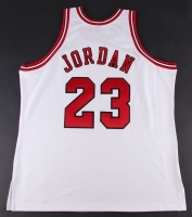 Michael Jordan Signed Limited Edition Bulls Authentic Mitchell & Ness Jersey #23/123 (UDA COA) at PristineAuction.com