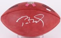 "Tom Brady Signed Breast Cancer Awareness ""The Duke"" NFL Official Game Ball (TriStar Hologram)"