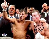 """Irish"" Micky Ward Signed 8x10 Photo Inscribed ""The Fighter"" (PSA COA)"