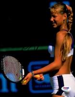Anna Kournikova Signed 8x10 Photo (PSA COA)